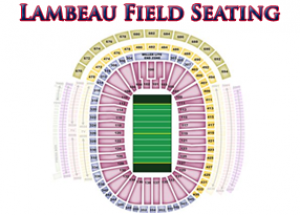 lambeau field seating