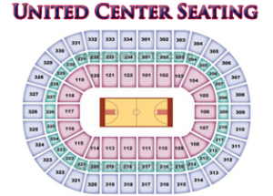 united center seating